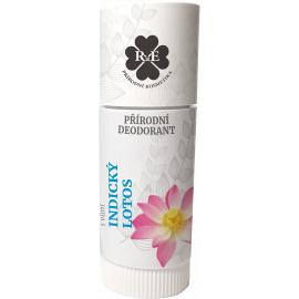 Tuhý přírodní deodorant Indický lotos RaE 25ml