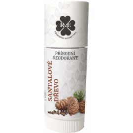 Tuhý přírodní deodorant Santalové dřevo RaE 25ml