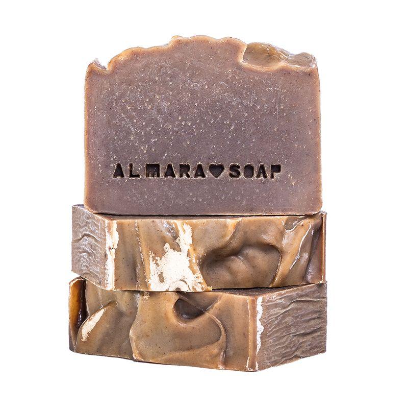 Tuhý šampon pro problematickou vlasovou pokožku New Hair Almara Soap 90 g