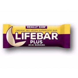 Tyčinka acai banán Bio Lifebar Plus 47g
