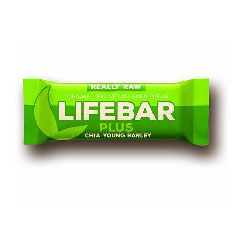 Tyčinka Chia semínka a mladý ječmen BIO  Lifebar PLUS  47g
