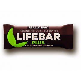 Tyčinka Čokoláda a konopný protein BIO  Lifebar PLUS  47g
