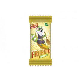 Tyčinka ovocná dětská Banán Frukvik 20g