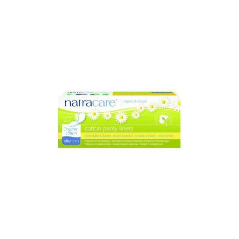 Ultratenké slipové vložky z biobavlny  Natracare  22 ks