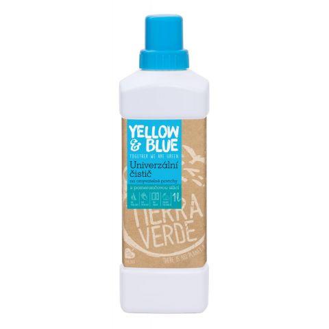 Univerzální čistič z mýdlových ořechů Yellow & Blue 1L