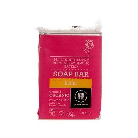 Mýdlo Růžové Urtekram 100g BIO