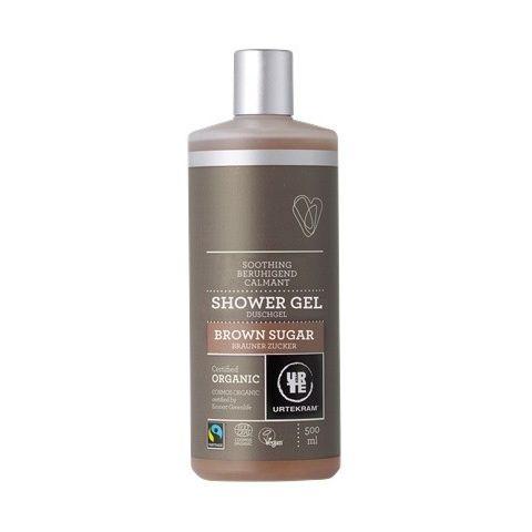 Sprchový gel brown sugar Urtekram 500ml BIO