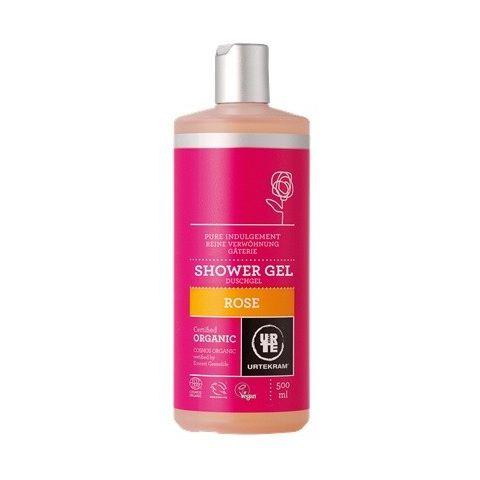 Sprchový gel růžový Urtekram 500ml BIO