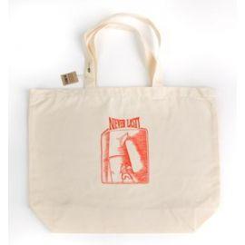 Velká nákupní taška s potiskem NEVERLAST