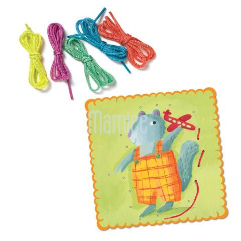Velké prošívací karty - Zvířátka Eeboo
