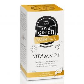 Vitamín D3 Royal Green 120 tablet