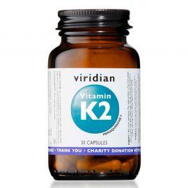 Vitamin K2 30 kapslí Viridian