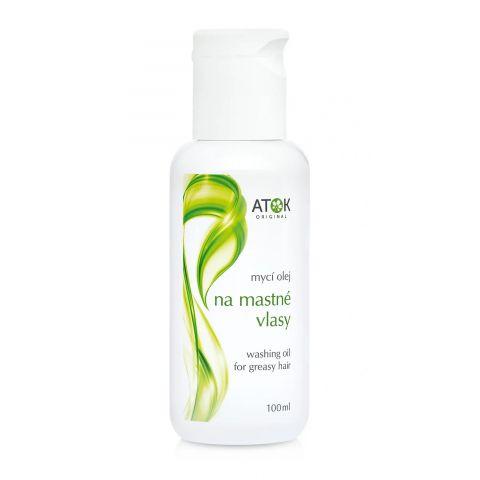 Vlas. mycí olej - mastné vlasy Atok