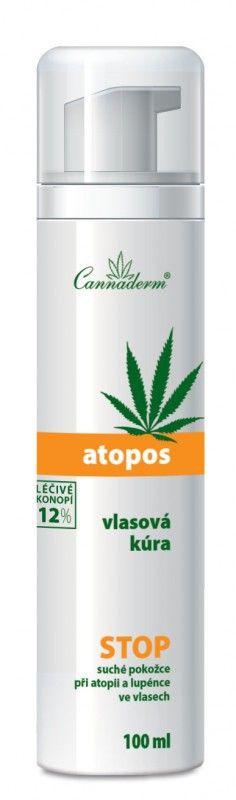 Vlasová kúra Atopos Cannaderm 100 ml