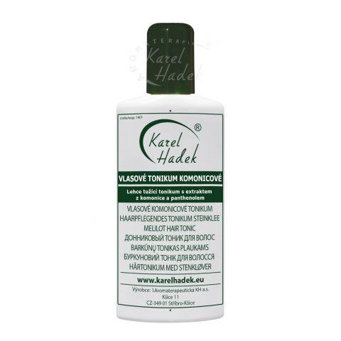 Vlasové tonikum komonicové Hadek 500 ml v dávkovači