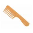 Vlasový hřeben z FSC certif. bukového dřeva - s rukojetí Förster´s