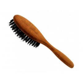 Vlasový kartáč z hruškového dřeva s kančími štětinami - malý Förster´s