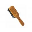Vlasový kartáč z olivového dřeva - s kančími štětinami - malý Förster´s