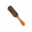 Vlasový kartáč z olivového dřeva s kančími štětinami oválný - oválný Förster´s