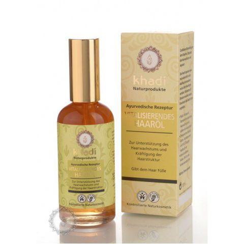 Vlasový olej VITALITA stimulující růst vlasů Khadi  100ml