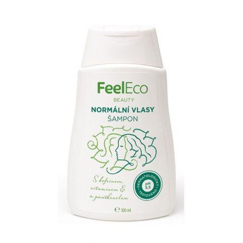 Vlasový šampon na normální vlasy Feel eco 300 ml