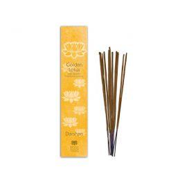 Vonné tyčinky  Darshan Golden Lotus 10 ks