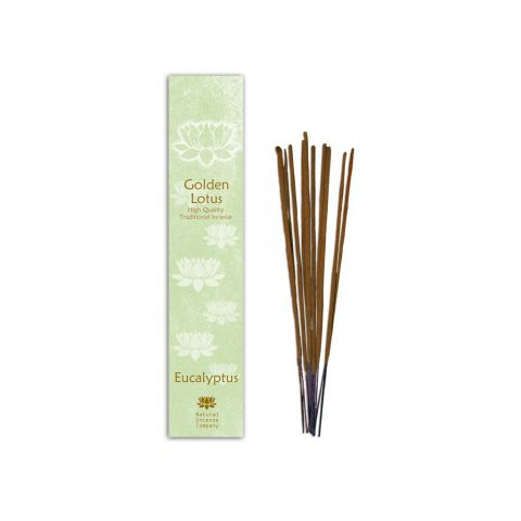 Vonné tyčinky Eukalyptus Golden Lotus 10 ks