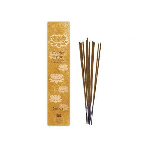 Vonné tyčinky Santal Golden Lotus 10 ks