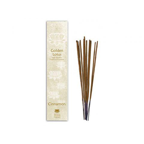 Vonné tyčinky Skořice Golden Lotus  10 ks