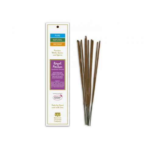 Vonné tyčinky Pure - Královská ambra Natural Incense 10 ks