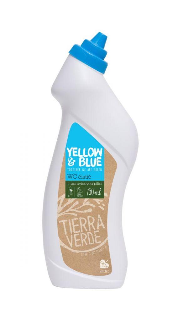 Yellow & Blue WC čistič 750ml