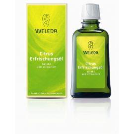 Citrusový pěstící olej s mandlovým olejem 100ml Weleda