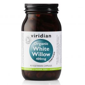White Willow Bark 400mg Organic 90 kapslí Viridian