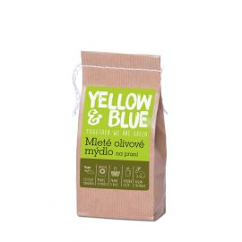 Yellow & Blue Mleté olivové mýdlo na praní 200g