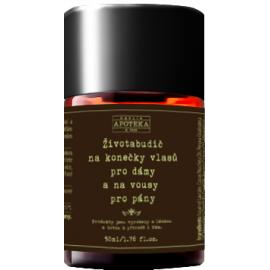 Životabudič na konečky vlasů pro dámy a vousy pro pány Havlíkova Apotéka 30 ml