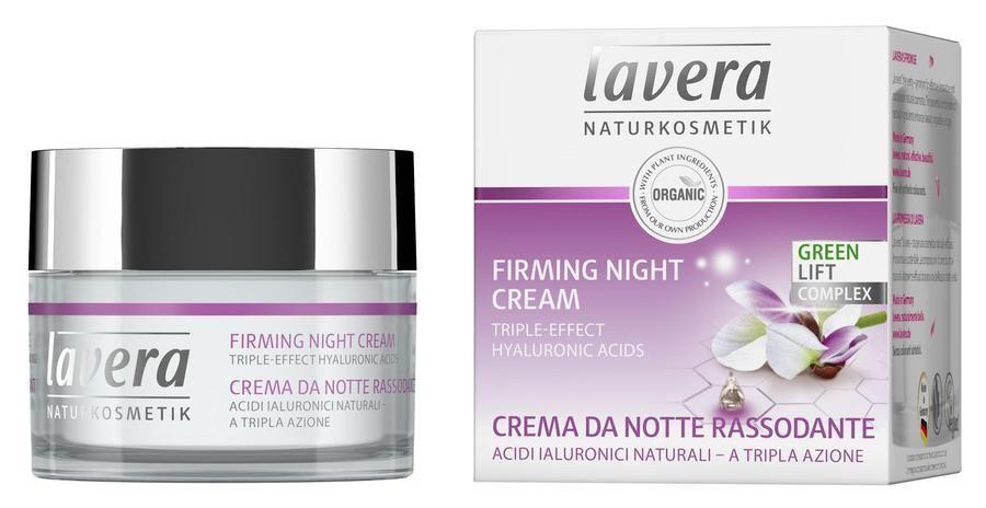 Zpevňující noční krém Lavera 50 ml