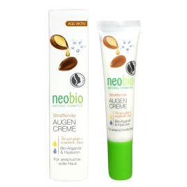 Zpevňující oční krém AGE ACTIVE Bio Arganový olej & Hyaluron Neobio 15 ml