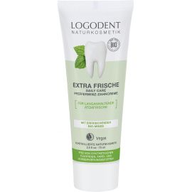 Extra  Fresh Zubní krém Bio Máta Daily Care Logona 75ml