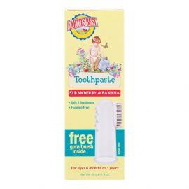 Zubní pasta pro děti od 6 měsíců se zubním kartáčkem Jason 45g