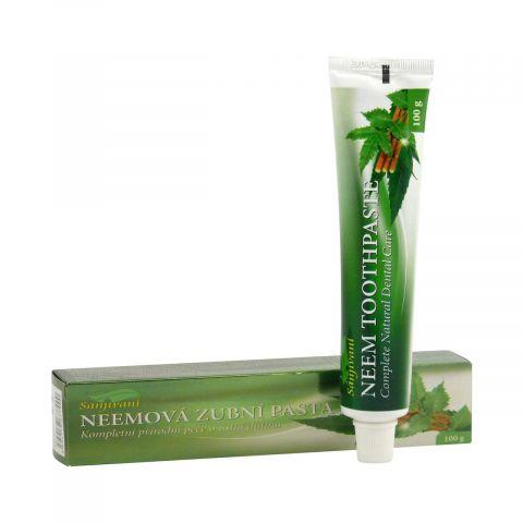 Neemová zubní pasta (gel) s neemem, amlou a hřebíčkem Sanjivani 100ml