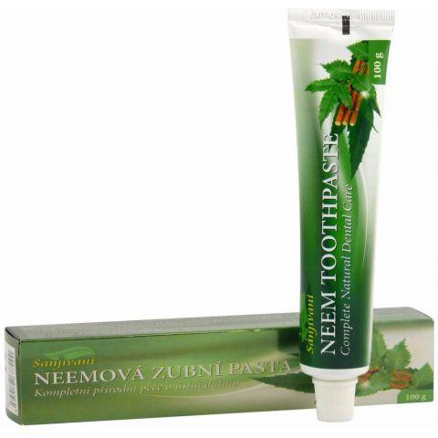 Neemová zubní pasta (gel) pasta s vyšším obsahem neemu Sanjivani 100ml
