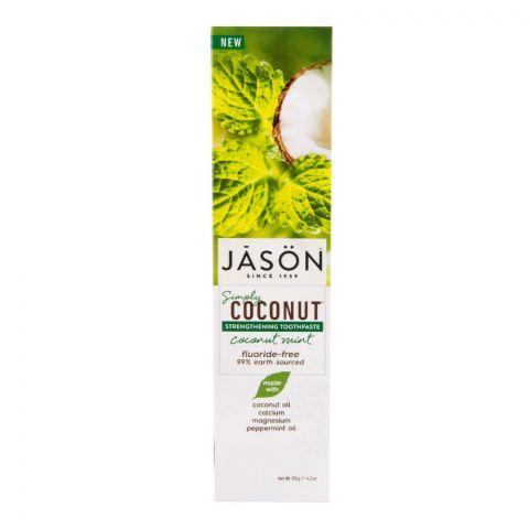 Zubní pasta simply coconut posilující Jason 119ml